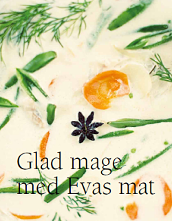 Glad mage med Evas mat